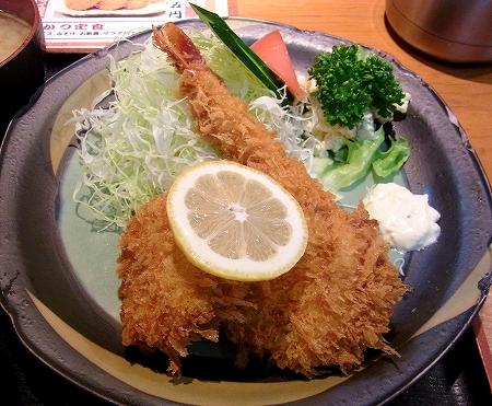 東京の特大海老フライが食べられるお店