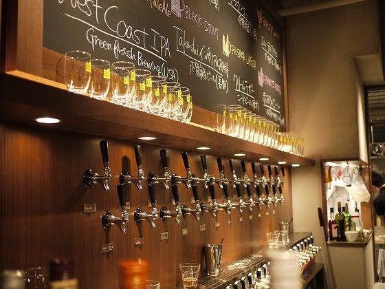 クラフトビアマーケット 「全てのビールが均一価格、クラフトビールの入門編に。」