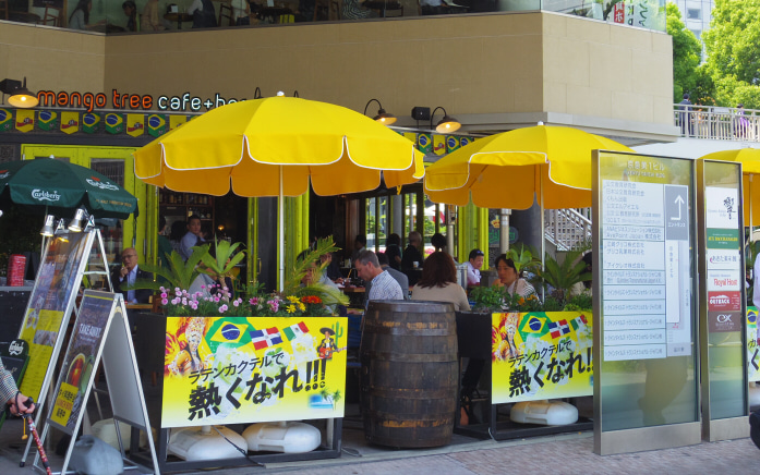 マンゴツリーカフェ+バー ウィング高輪WEST(mango tree cafe+bar)